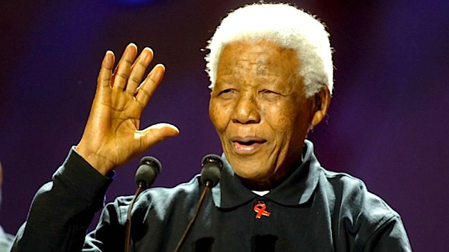 Nelson Mandela has died, aged 95
