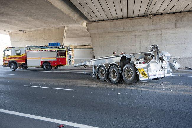 Truck crash on Bruce Highway | Daily Telegraph