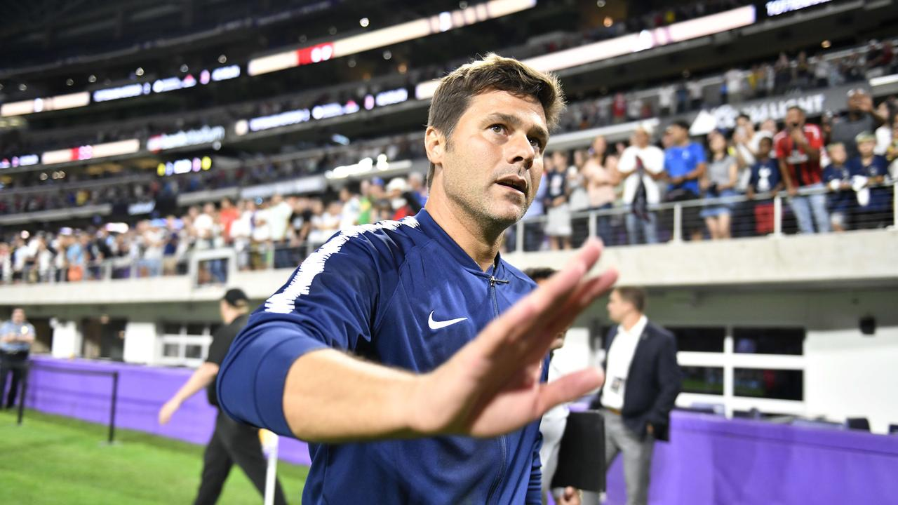 Head coach Mauricio Pochettino of Tottenham Hotspur =