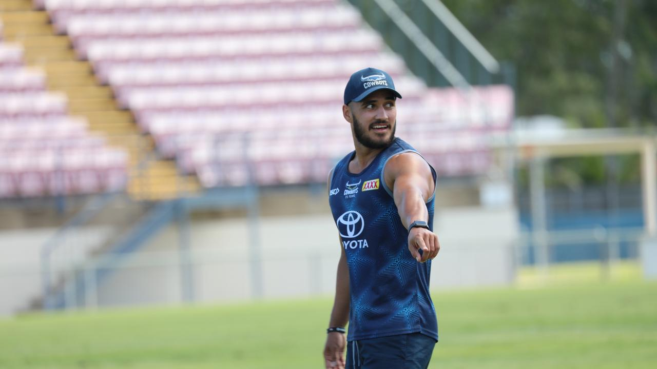 Valentine Holmes knows he has some work to do to get back to his best.