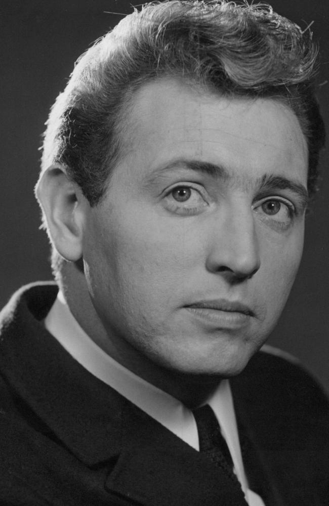 Jimmy Hannan, singer and TV host pictured in the 1950s. He has passed away at age 84 after a short battle with cancer. Picture: Supplied