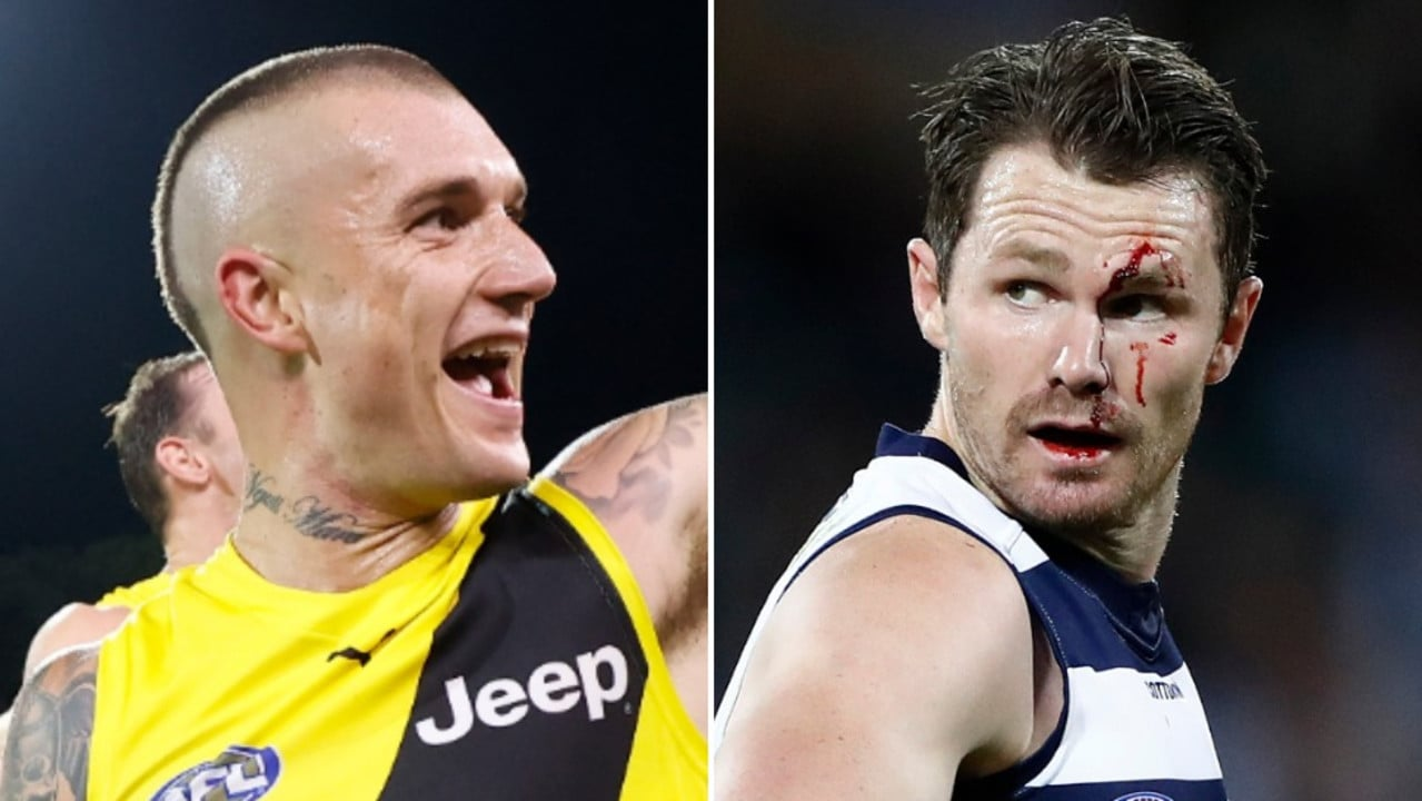 David King has assessed the potential impact of Dustin Martin and Patrick Dangerfield.