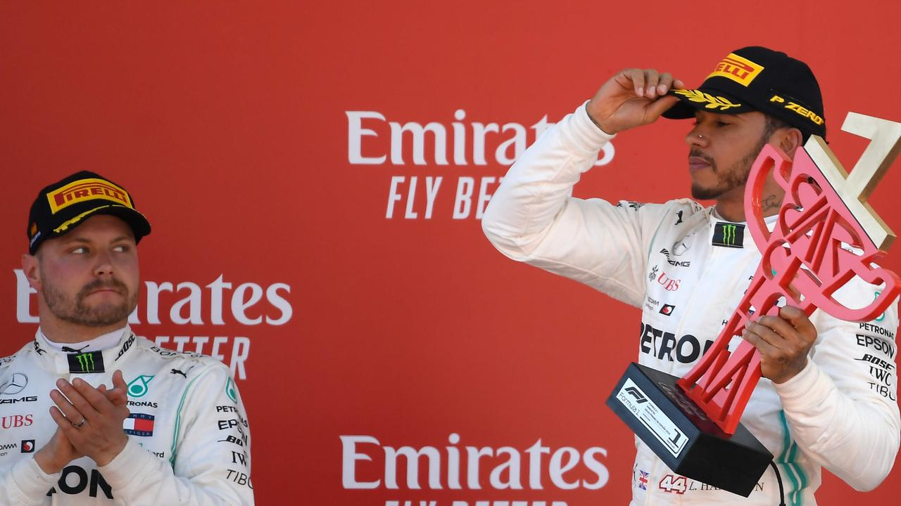 Valtteri Bottas and Lewis Hamilton are the two runaway leaders at the top of the championship.