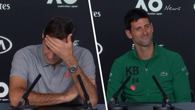Federer hurting after straight set loss to dominant Djokovic