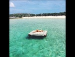 """Natasha Oakley at Staniel Cay, Bahamas... """"I love The Bahamas"""" Picture: Instagram"""