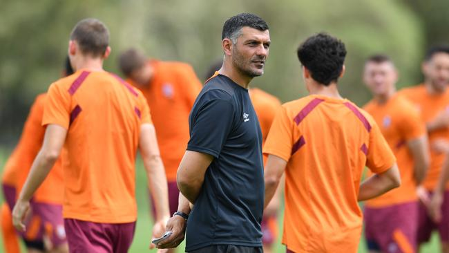 Brisbane Roar coach John Aloisi wants opposition to hate coming to Suncorp Stadium to play the Roar. Picture: AAP