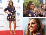 Jessica Mauboy arrives at the Aria Awards 2014. Pictures: Getty