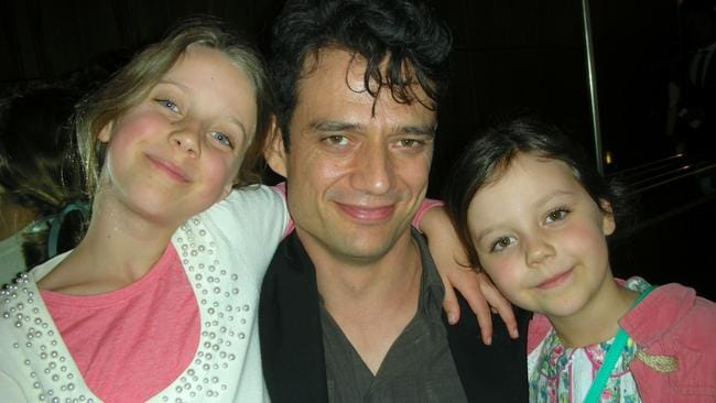 Happy family ... Marta and Ben have two daughters — Grace, eight, and Maggie, five.