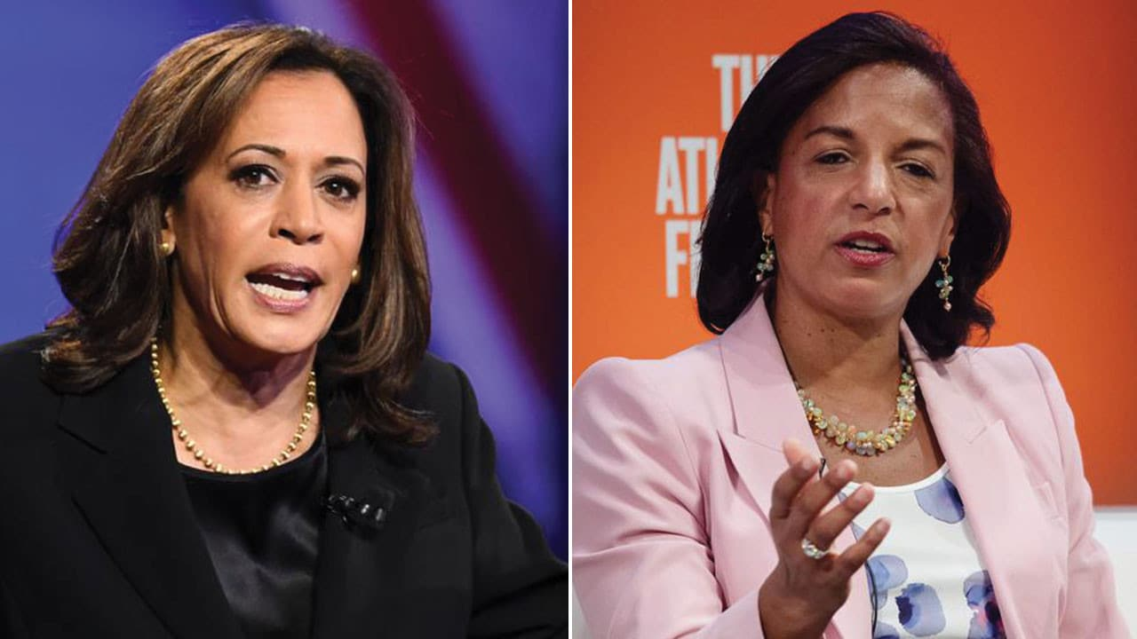 Joe Biden S Vice Presidential Running Mate Race Narrows To Kamala Harris Or Susan Rice Report Says