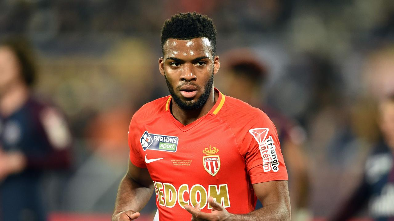 Monaco's French midfielder Thomas Lemar