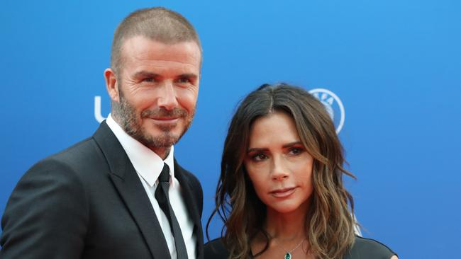 Whether or not he has had a secret transplant, Beckham's hair has certainly grown quickly since the end of August when this photo taken. Picture: Valery Hache