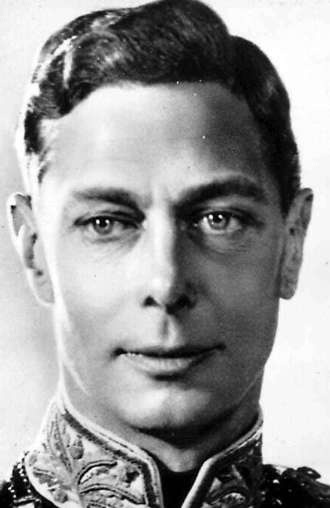 King George VI was battling lung cancer when he died of a coronary thrombosis.