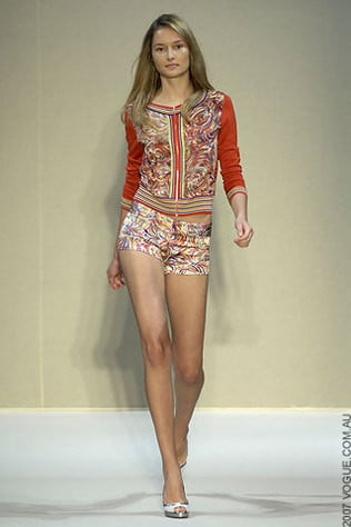 Collette Dinnigan Ready-to-Wear Spring/Summer 2008