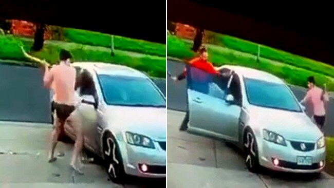 Two men fight off carjackers in Keilor Lodge. Vision: Facebook