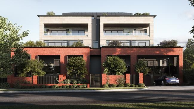Iva apartments in Ivanhoe will be home to three generations of the Burt family.