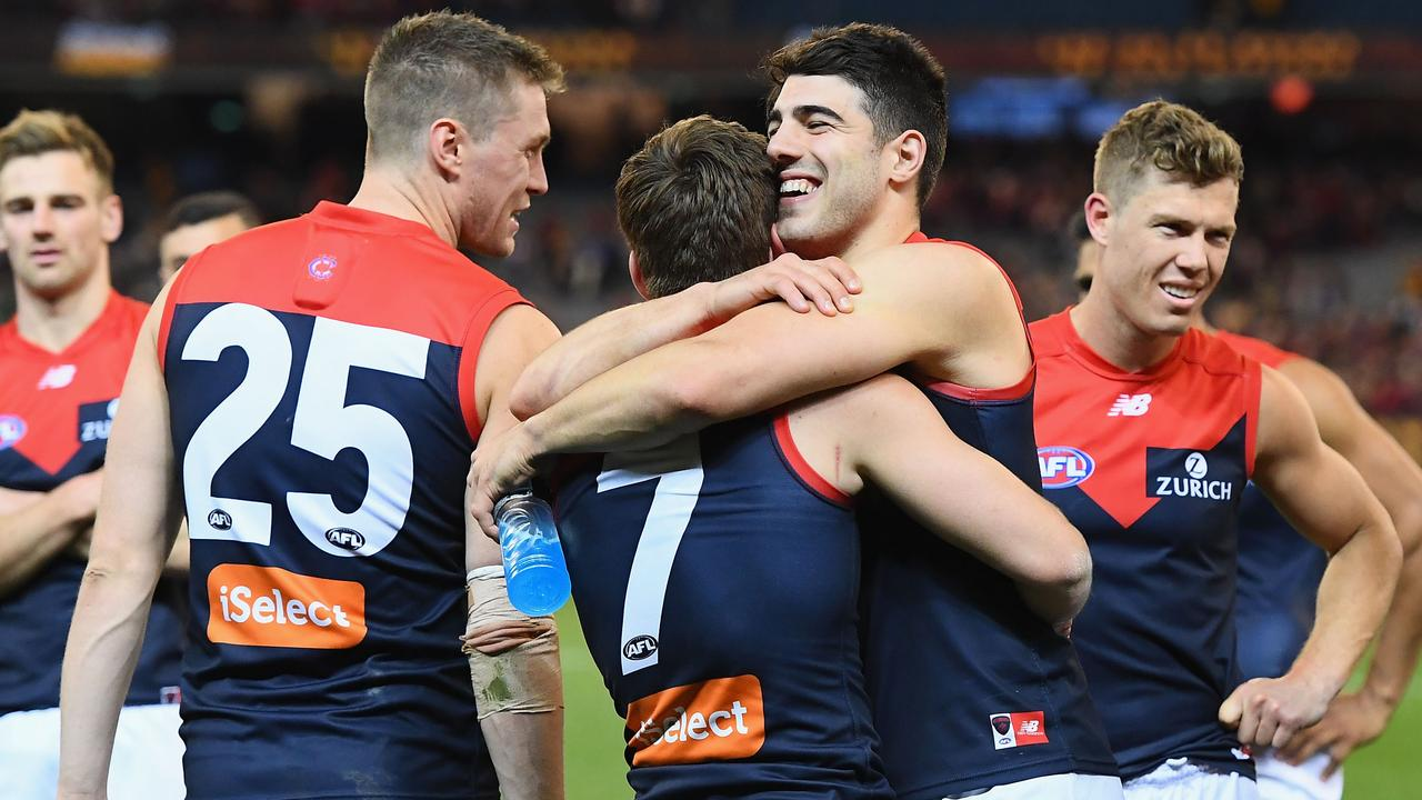Inexperience didn't matter in Melbourne's two finals wins last year. (Photo by Quinn Rooney/Getty Images)