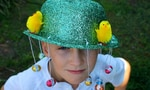 easter jazzy hat