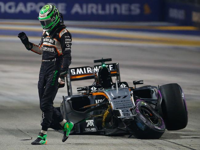 Hulkenberg's Singapore Grand Prix lasted a few hundred metres, while a Brazil GP podium went begging with a cut tyre.