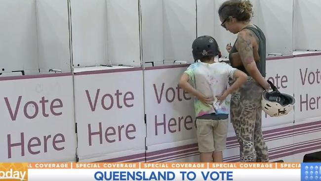 Queenslanders must still go to the polls.