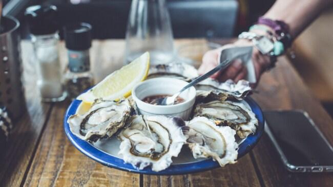 Oysters. Image. Unsplash.