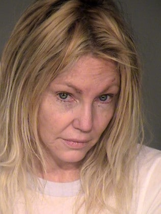 Heather Locklear after her February arrest. Picture: Ventura County Sheriffs Office via Getty Images