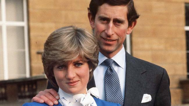 Charles and Diana in happier times. Picture: Tim Graham/Getty Images