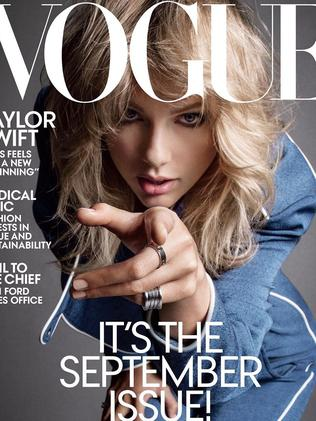 Taylor Swift's Vogue cover. Picture: Vogue