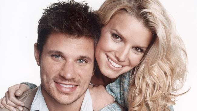 Jessica Simpson and Nick Lachey were a couple and had a TV show.