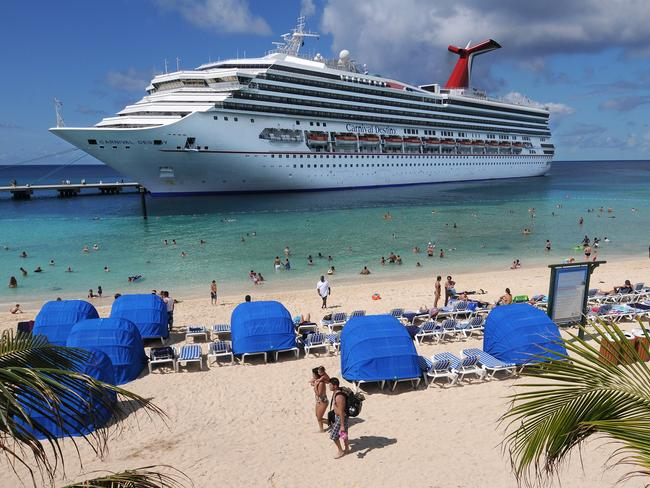 One too many drinks on-board the Carnival Destiny. AP Photo/Carnival Corp.