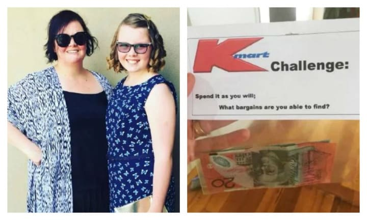 Mum's genius idea to have daughter's birthday party at Kmart is a winner