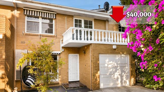 3/242 Woodland Street in Strathmore, Victoria fetched just $750,000 in March 2018, down from $790,000 in October 2017. Picture: realestate.com.au