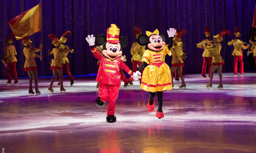 We got a sneak peek of 100 Years Of Magic at Disney on Ice