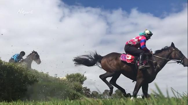 Oakbank jumps trials in slow motion