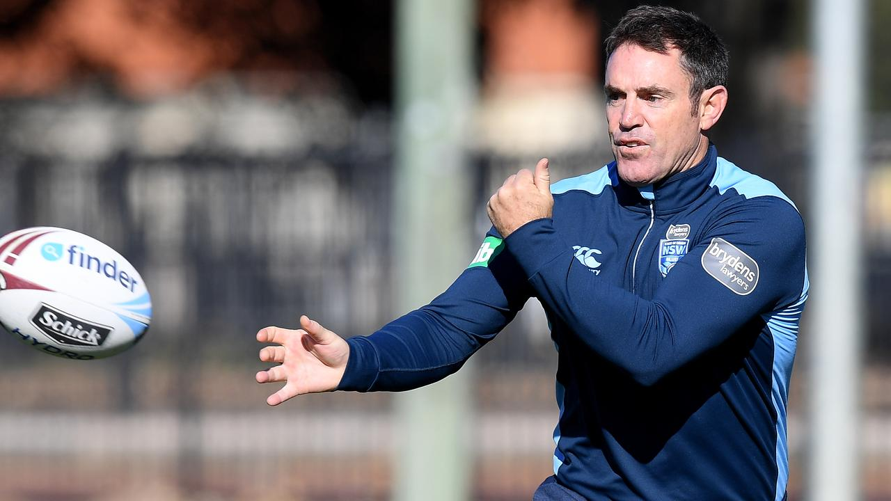 NSW Blues coach Brad Fittler says Suaalii should follow his heart. (AAP Image/Dan Himbrechts)