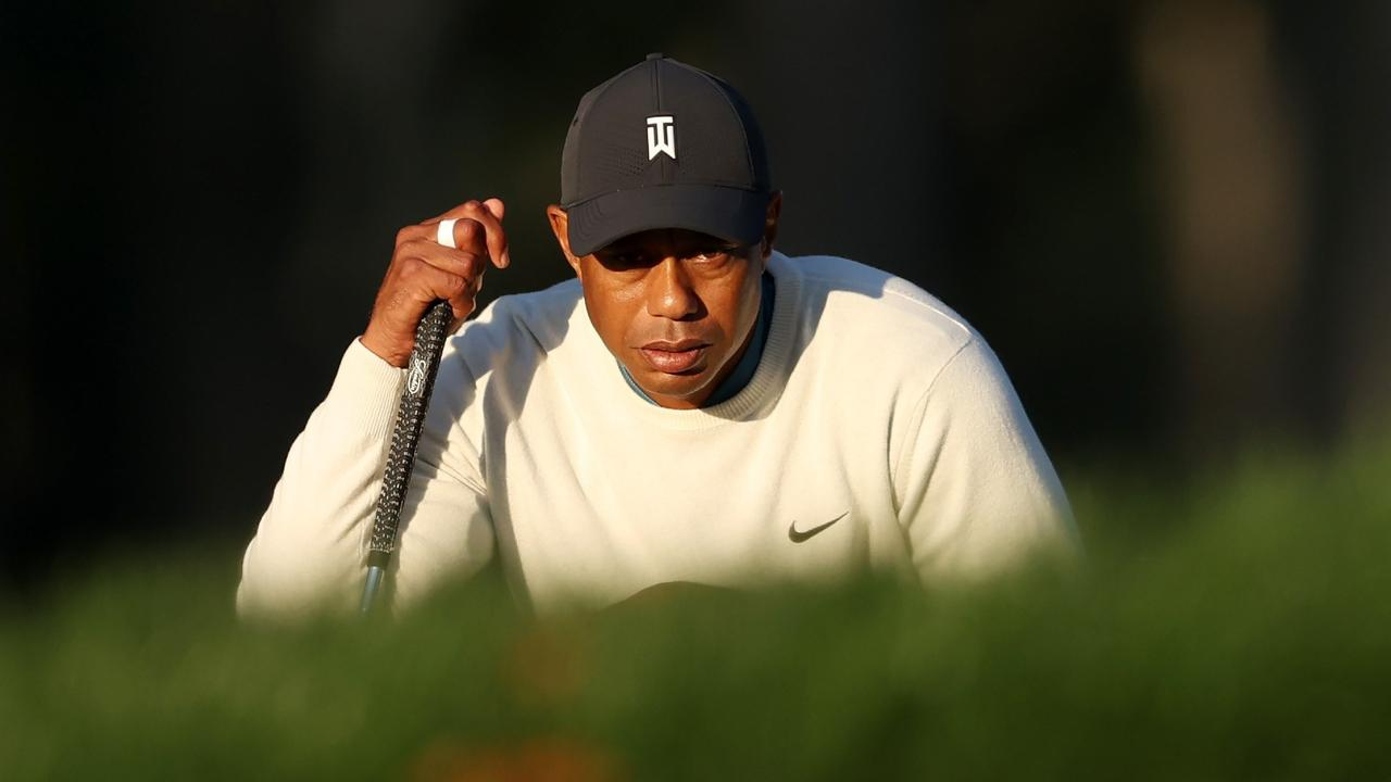 Tiger Woods is already looking forward to defending his Masters title in November. Picture: Gregory Shamus