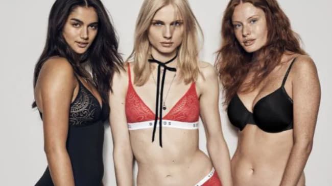 Bonds has made history as this will be the first ever Australian campaign headlined by a transgender model, Andreja Pejic (centre). Source: Supplied
