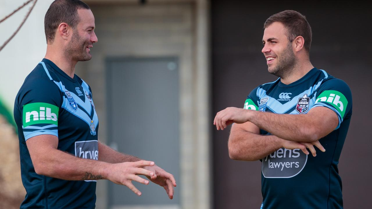 Boyd Cordner and Wade Graham play the same position as Tariq Sims, which could make the Blues rotation awkward.