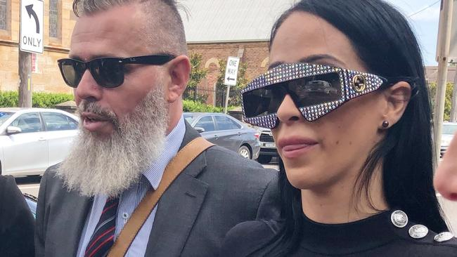 Margarita Tomovska at an earlier court appearance at Wollongong Local Court. Picture: Eliza Barr