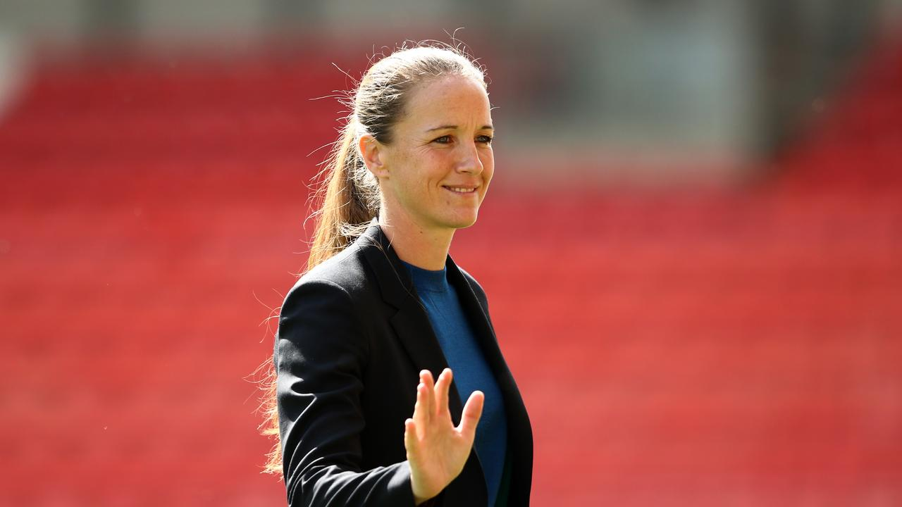 Casey Stoney, Manager of Manchester United Women