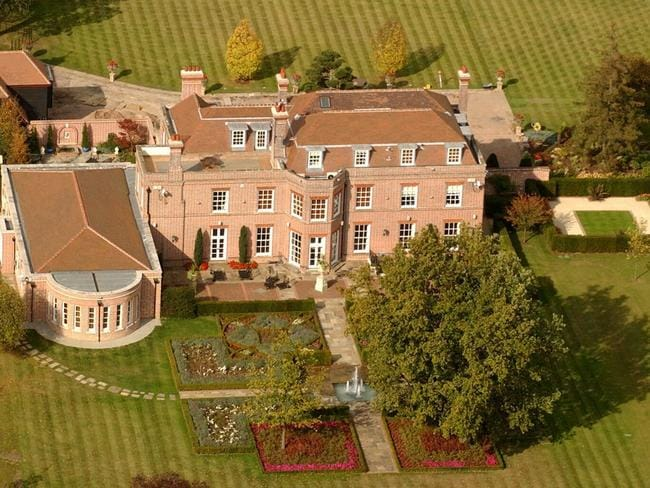 Beckingham Palace: the celeb couple paid $5.3 million for the Hertfordshire mansion in 1999.