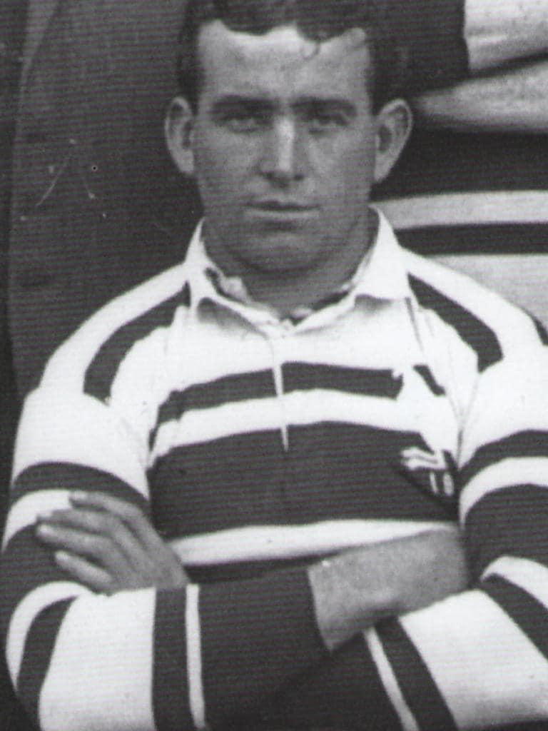 Former World War One (WWI) soldier and East Rugby League player Bob Tidyman.