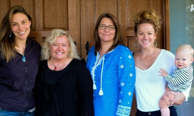 The Birth Time team hope to change maternity culture with their documentary. Picture: Supplied