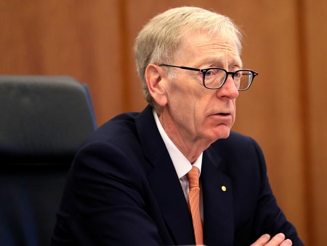 Former High Court judge Kenneth Hayne is leading the Royal Commission into banking. Picture: AAP