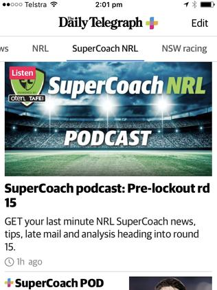 All Supercoach resources and tips in one place.