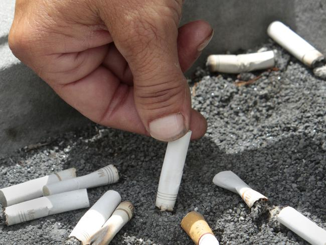If you quit smoking and gain weight, it may seem like you're trading one set of health problems for another. But a new US study finds you're better off in the long run. Picture: AP