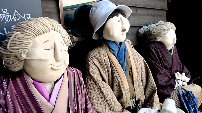 Nagoro Village in Japan is home to more life-sized dolls than humans. Picture: Toursgallery