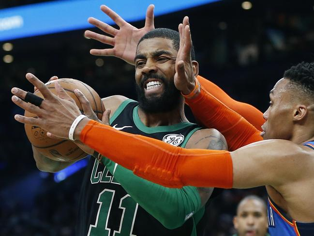 Kyrie Irving has been battling more than just opposition players this season.