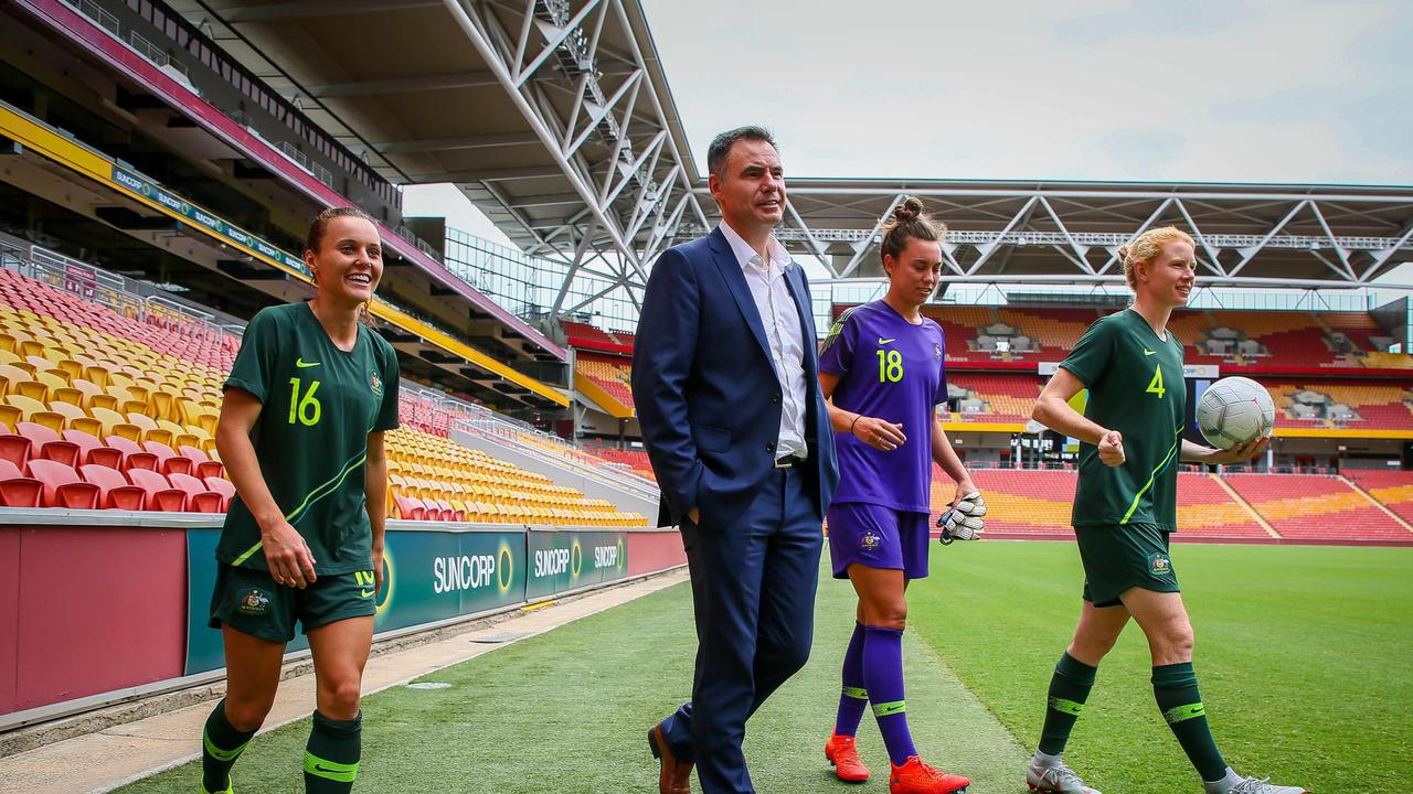 Kerr is looking forward to meeting new Matildas coach Ante Milicic.