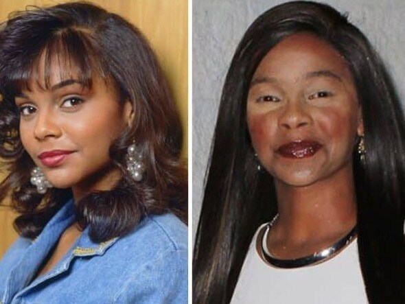 Lark Voorhies played Lisa Turtle in Saved by the Bell. Picture: Supplied