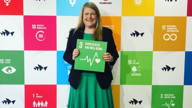 Sarah Meredith, Australian Country Director, Global Citizen. Image: Supplied.